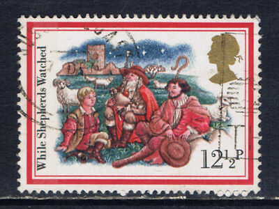 Great Britain #1006(2) 1982 12.5 pence While Shepherds Watched Used