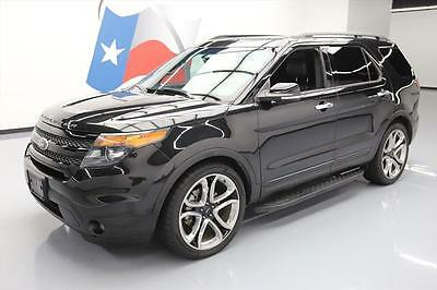 2014 Ford Explorer Sport Sport Utility 4-Door 2014 FORD EXPLORER SPORT ECOBOOST AWD LEATHER NAV 54K #C35353 Texas Direct Auto