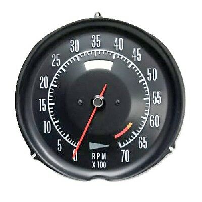 72 73 74 Corvette Tachometer Assembly New Electronic Conversion Tach 1972-1974