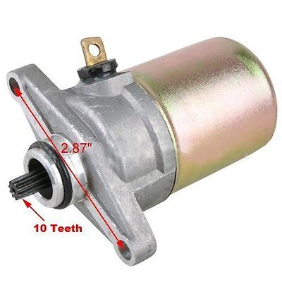 50cc STARTER MOTOR FOR WOLF SCOOTERS WITH 50cc QMB139 MOTORS