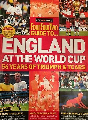 Four Four Two / 442 Guide To... England at the World Cup - Football / Soccer