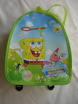 Mini Backpack Bag Rugsack for Children Birthday Gift Sponge Bob