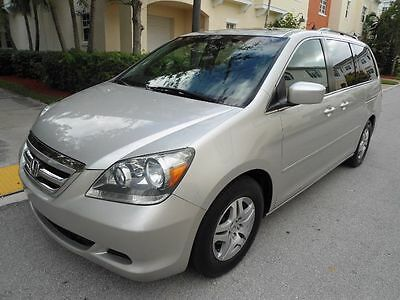 2005 Honda Odyssey EX-L ONE OWNER ports Van FWD Automatic