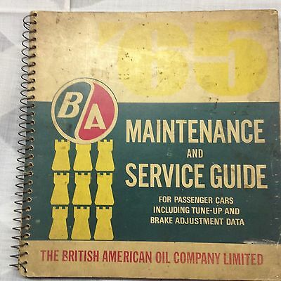 vintage oil and gas service guide