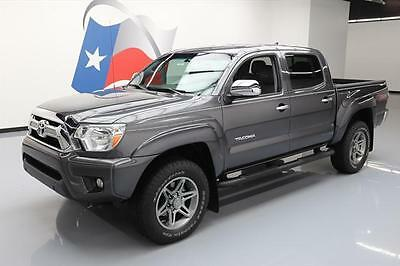 2014 Toyota Tacoma Pre Runner Crew Cab Pickup 4-Door 2014 TOYOTA TACOMA SR5 PRERUNNER DBL TSS LEATHER 45K MI #173760 Texas Direct