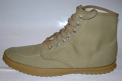 Vintage LL Bean Canvas High Top Hiking Canoe Sneaker Shoes NOS Deadstock USA