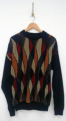 Vintage Retro Protege Collection Bill Cosby COOGIE 90s Sweater Jumper Biggie