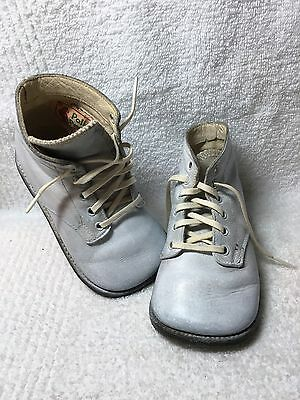 Poll Parrott Star Brand Vintage Baby Shoes Leather