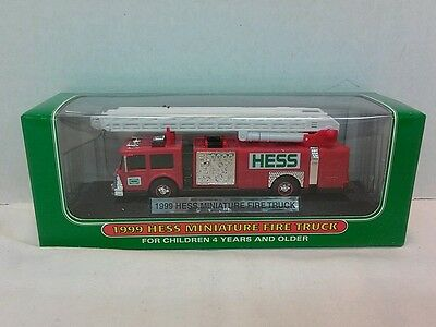 Hess trucks- miniature 1999
