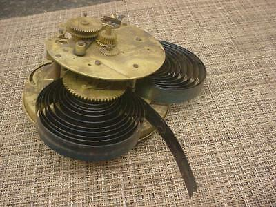 Clockmaker Alarm Big Ben  Brass Movement Parts Gears SteamPunk E766