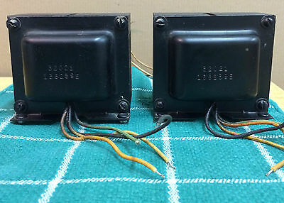 Vintage Pair EICO Tube Amp Power Output Transformers, Audiophile Guitar AMP, DIY