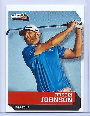 """Dustin Johnson 2016 Sports Illustrated """"1 Of 9"""" 1St Ever Printed Rookie Card!"""