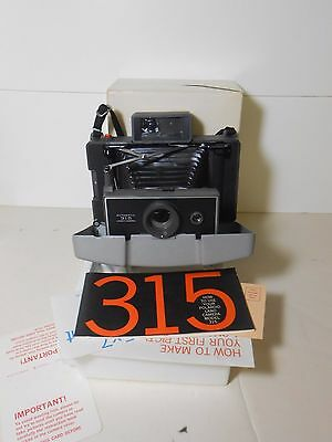 Vintage Polaroid Land Camera Model 315 with Box and Maunal