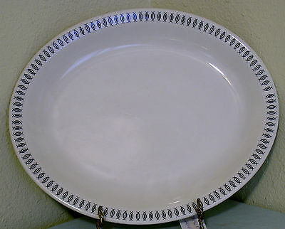 "Homer Laughlin Best China Usa Pa Restaurant Ware 12"" Chop Platter"