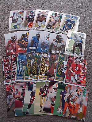NFL Gridiron cards - mainly PANINI, includes ROOKIE PRIZMS - 27 CARDS IN TOTAL