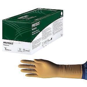 Protexis Neoprene Surgical Glove Size 7.5, Powder-Free, Nitrile Coating -50/Box