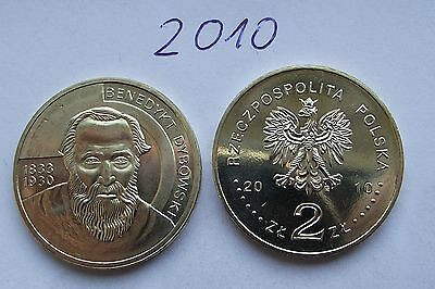2010 - 2 zlote NG - Dybowski - Mint / UNC condition