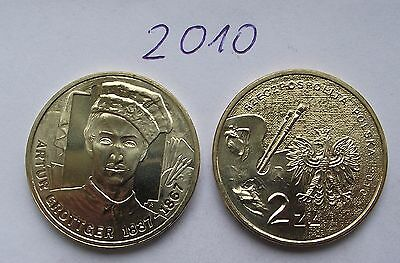 2010 - 2 zlote NG - Grottger - Mint / UNC condition