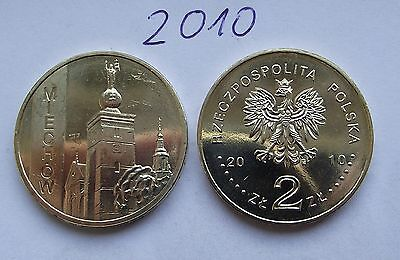 2010 - 2 zlote NG - Miechow - Mint / UNC condition
