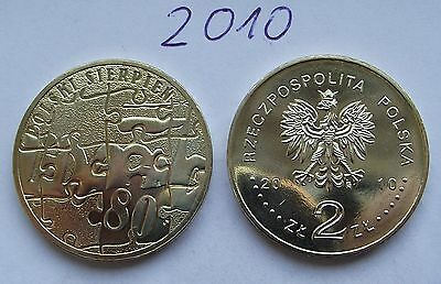 2010 - 2 zlote NG - Sierpien 80 - Mint / UNC condition