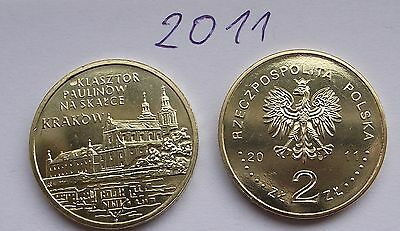 2011 - 2 zlote NG - Kraków - Mint / UNC condition