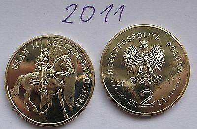 2011 - 2 zlote NG - Ulan - Mint / UNC condition