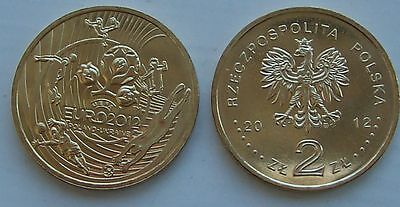 2012 - 2 zlote NG - Euro 2012 - Mint / UNC condition