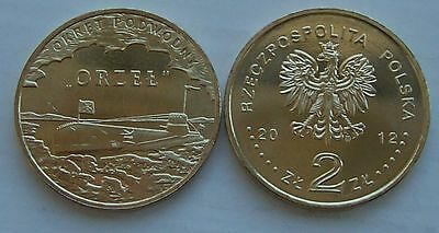 2012 - 2 zlote NG - ORP Orzel - Mint / UNC condition