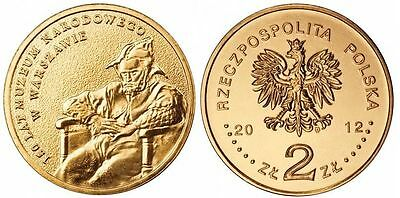 2012 - 2 zlote NG - Muzeum narodowe - Mint / UNC condition