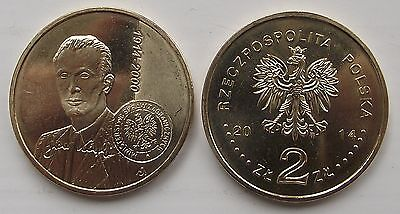 2014 - 2 zlote NG - Karski - Mint / UNC condition