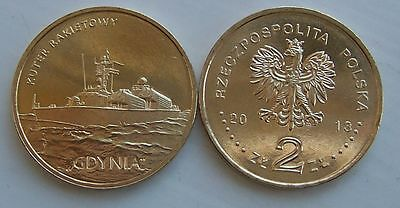 2013 - 2 zlote NG - Kuter Gdynia - Mint / UNC condition