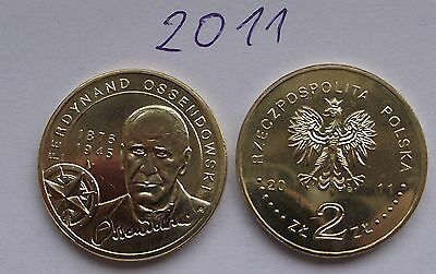 2011 - 2 zlote NG - Ossendowski - Mint / UNC condition