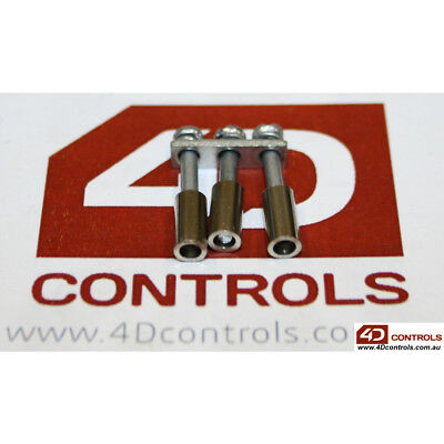 Connectwell CA721/3 TERMINAL BLOCK JUMPER 3WAY, TO SUIT CTS2.5UN (QTY:5) - Ne...