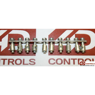 Weidmuller Q10AKZ4 TERMINAL BLOCK JUMPER 10WAY, TO SUIT AKZ4 (QTY:1) - New No...