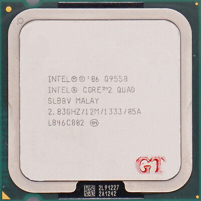 INTEL Core 2 Quad Q9550 SLB8V Yorkfield Socket LGA 775 CPU Processor