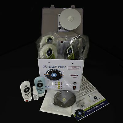 JFJ EASY PRO DISC REPAIR MACHINE with supplies for Mika