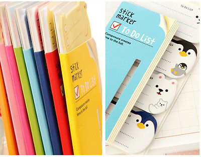To Do List Sticker Paste Bookmark Marker Memo Flags Index Tab Sticky Notes H1H