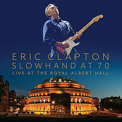 Eric Clapton Slowhand At 70 Live At The Royal Albert Hall Triplo Vinile Lp + Dvd