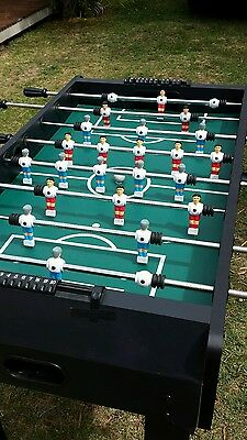 Awesome foosball soccer table. Excellent quality.  Was $599 new.