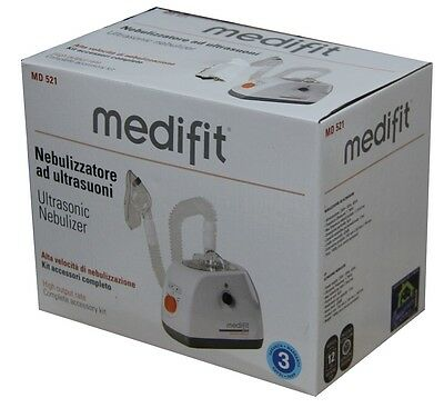 Medifit aerosol MD521 Inhalationsgerät TD921 A