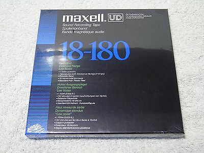 1 x Brand New & Sealed Maxell UD 18-180 3600ft 7in 1/4in Wide Reel To Reel Tape