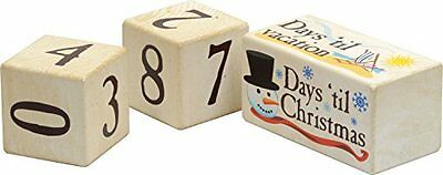 Days 'Til Countdown Blocks Made in USA, New