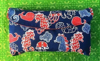 Sea Horse, Jellyfish, Whale, Sea Animal Print Nappy Wallet