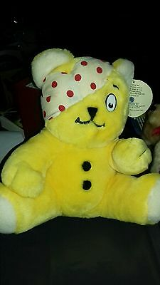 Vintage 1986 Children in Need Pudsy soft bear