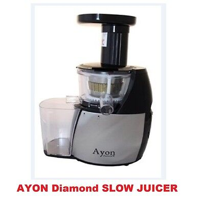 New Ayon Diamond Cold Press Slow Juicer Processor Extractor