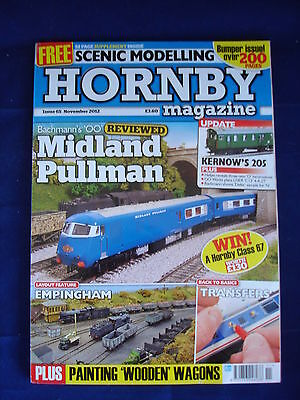 Hornby Magazine # 65 Nov 2012 - Empingham - Transfers - painting wooden wagons