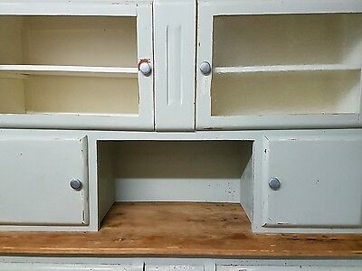 shabby chic kitchen french dresser with baguette drawer