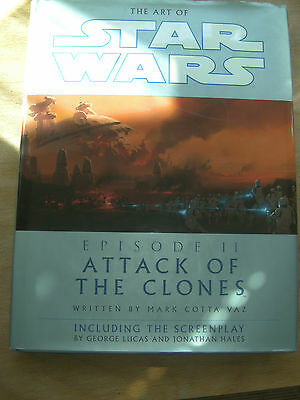The art of Star Wars attack of the clones book