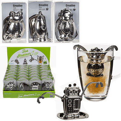 Stainless Steel Tea Bag Strainer Infuser Filter Herbal Spice Brew Leaf Steeper