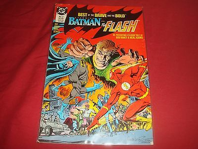 BATMAN : BEST OF THE BRAVE AND THE BOLD #2 Batman The Flash DC Comics 1988 FN/VF
